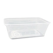 Containers - Plastic Rectangle