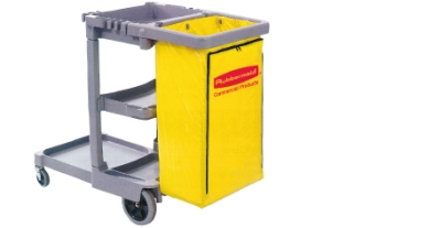 Janitor Trolley 1070(wide) x 510 (deep) x 900mm (high)