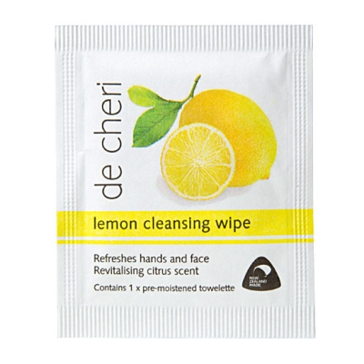 Refresher Towelettes Lemon