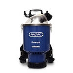 Pac Vac Superpro Battery Vacuum (C/W 2 Batteries)