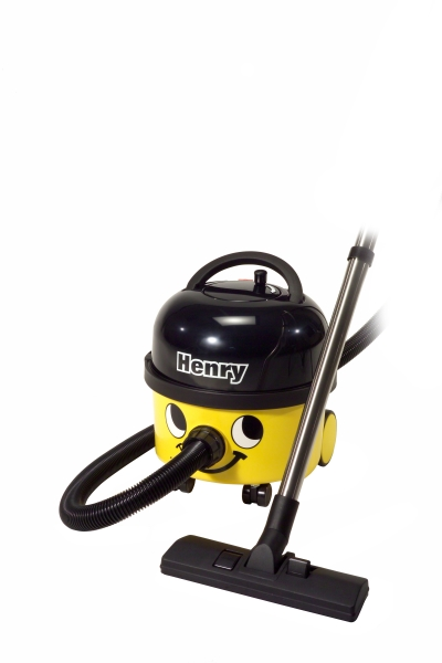 Henry 9ltr Dry Vacuum Cleaner - Yellow