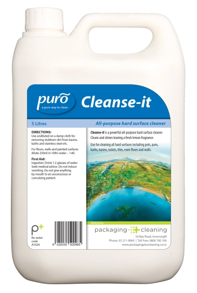 Puro Cleanse - It 5ltr