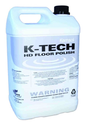 K-Tech H/Duty Floor Polish 5ltr