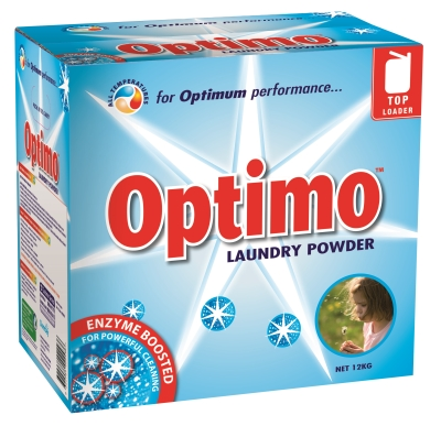 Optimo Charge Laundry Powder Box 12kg
