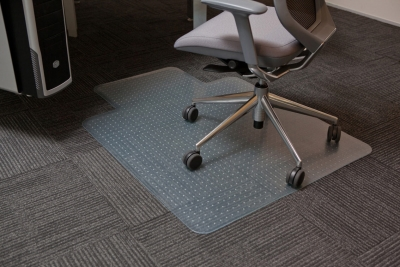 PVC Executive Clear Chairmat - 1140 x 1350mm