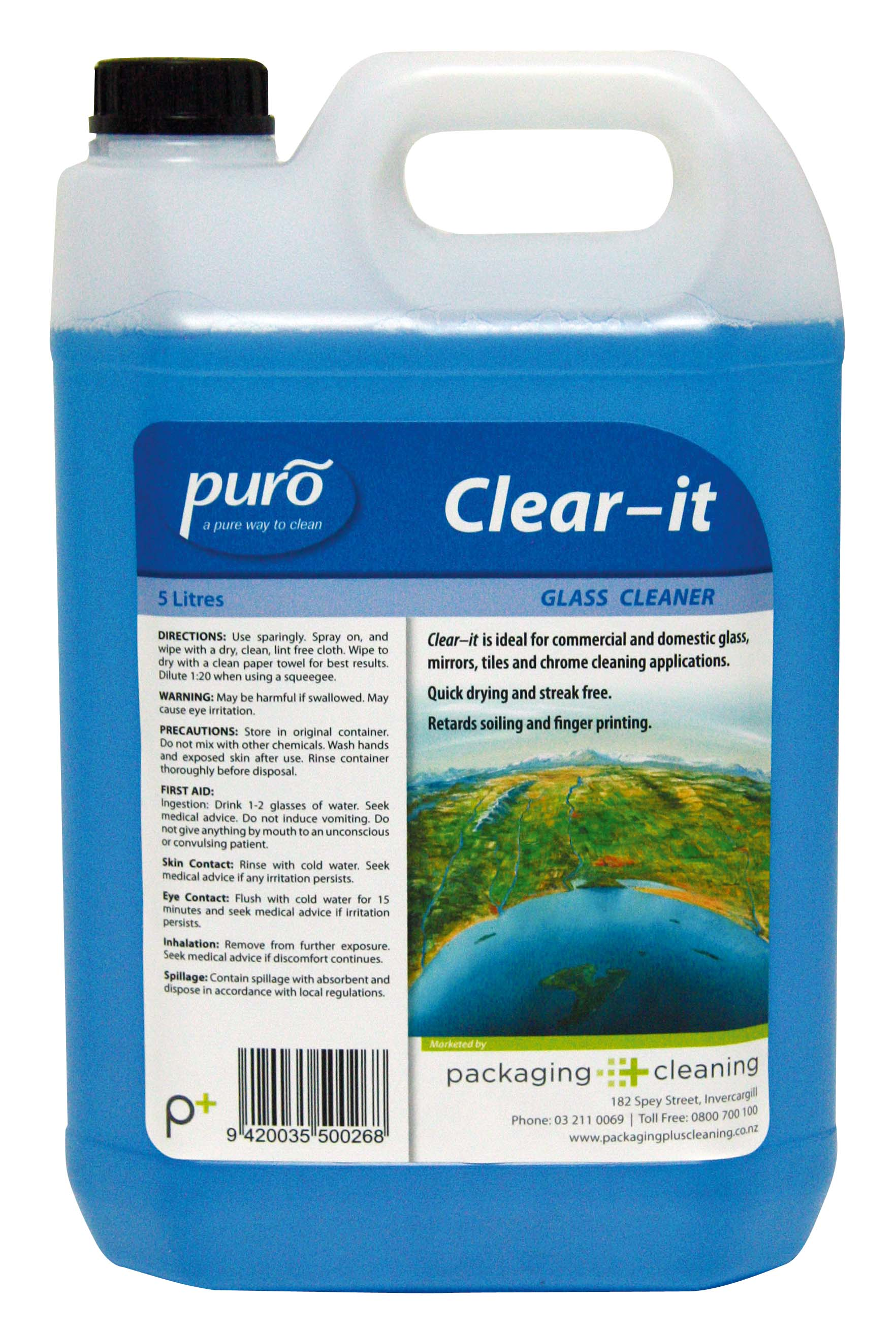 Puro Clear It 5ltr Packaging Plus