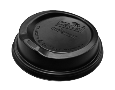 Black Lid to Suit Jute Cup