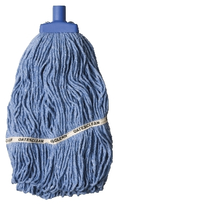Looped End Socket Mop 350Gm Blue  Sm-418-B