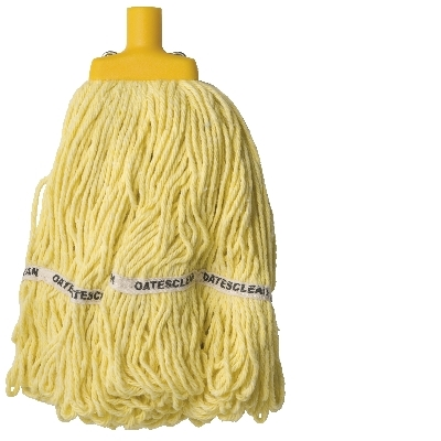 Looped End Socket Mop 350Gm Yellow  Sm 418-Y