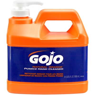 Gojo Orange With Pumice Pump Top 1.89ltr