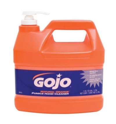 Gojo Orange With Pumice Pump Top 3.78ltr