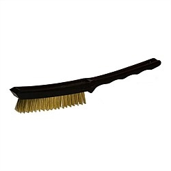 Spik Small Brass Brush Black