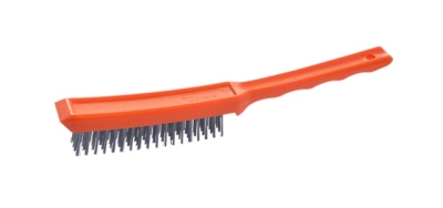 Wire Brush 4 Row Plastic Handle S/S Fill