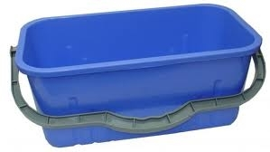 Blue Rectangle Bucket 12ltr