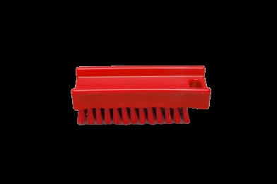 Nail Brush Red 16mm Med 0.30 - 110mm 15060-3