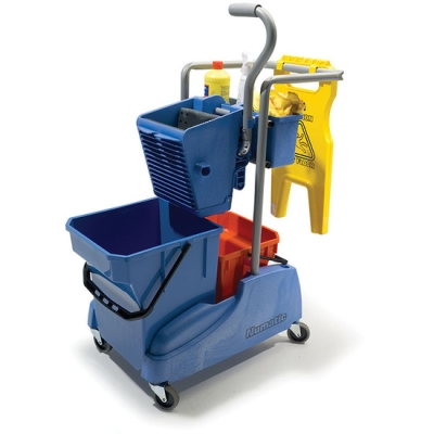 Tm-2815W Compact Twinmop Trolley C/W Press