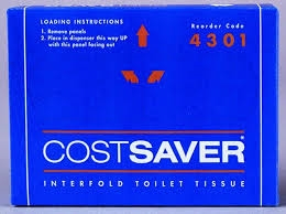 Scott 4301 Interfold Toilet Tissue 1ply