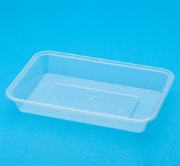 Bonson Wide Base Container Clear 750ml 850D