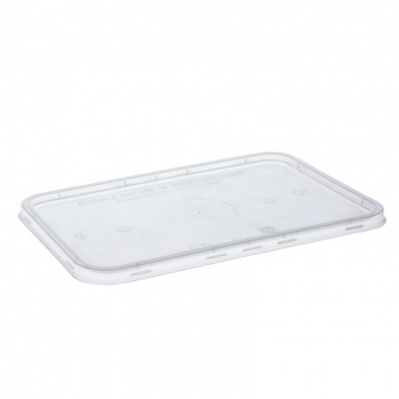 Freezer Grade Rectangular Lid To Suit Food Containers