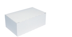 Medium White Snack Box 172 x 103 x 70mm