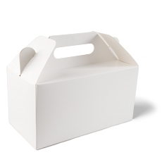 White Medium Carry Pack - 220 x 115 x 114mm