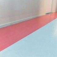 Hard Surface Protection Film 1m X 100mtr Red Tint 50mic