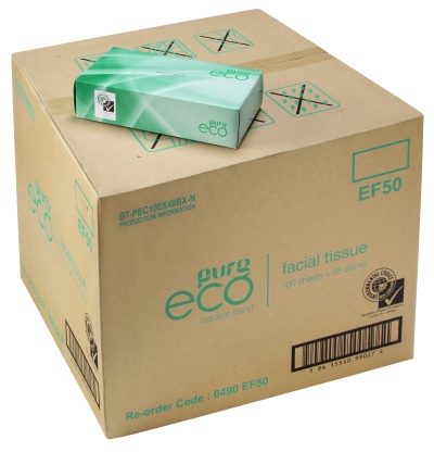 Pure EF100 Facial Tissue