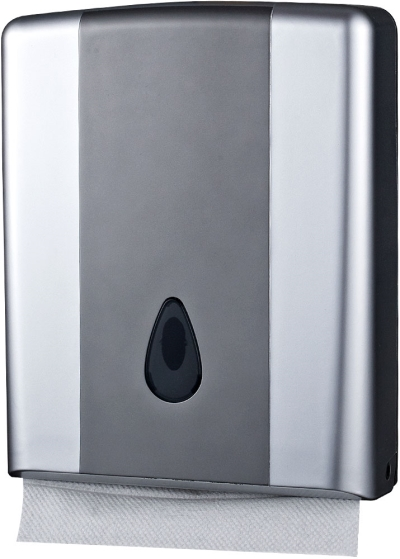 Pure Compact Towel Dispenser - Silver